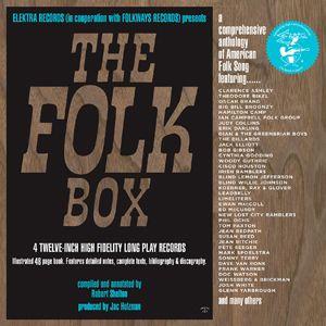 """VariousArtists""""TheFolkBox"""" Elektra Records"""